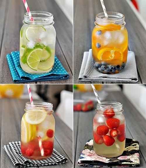 Make your own super vitamin water: delicious -with no nasties!