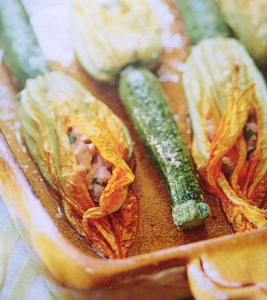 Zucchini flowers: hurry up, it's almost the end of the season!