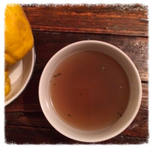 My morning drink of choice! Bone broth benefits are endless...
