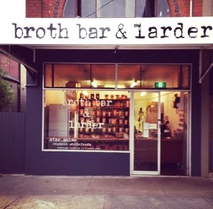 First Broth Bar in Sydney... Yum!