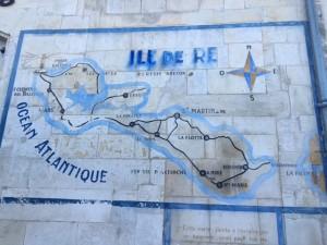 Ile de Re map