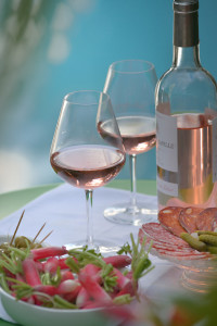 Long lazy summer lunches with rosé.